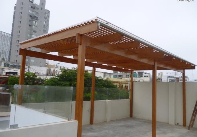 instalacin de un techo en terraza
