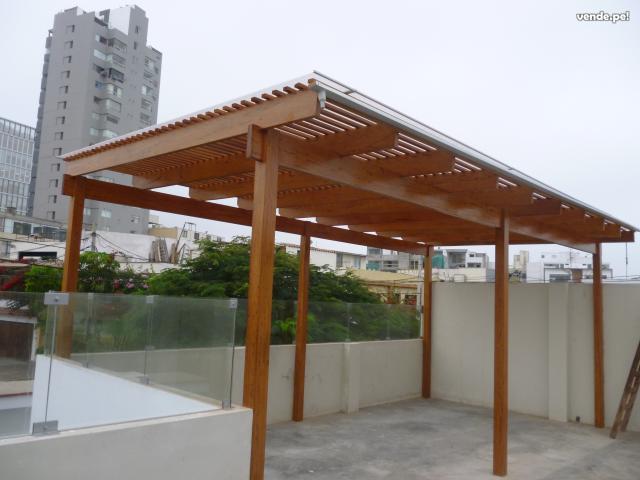 Techos Para Terrazas Techos De Madera Para Terrazas Con Estilo With - Tejados-para-terrazas